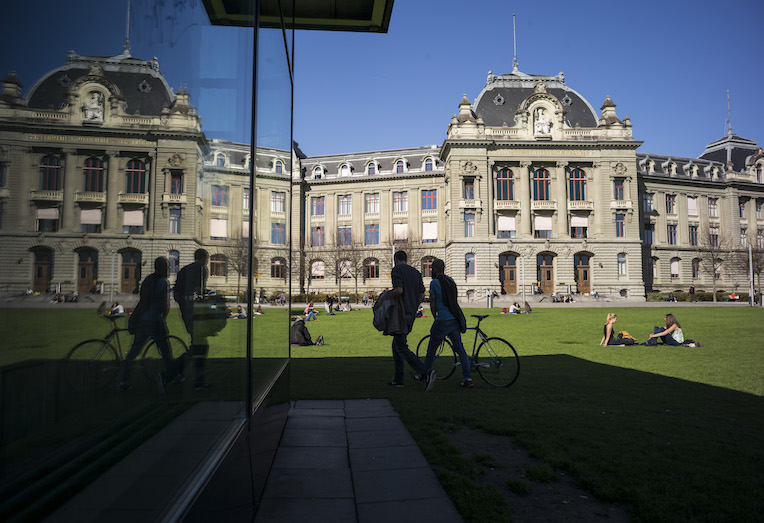 ambient photo outside the university of bern